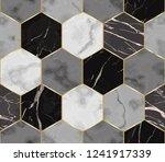vector white  gray and black... | Shutterstock .eps vector #1241917339