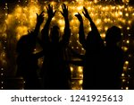 young people are dancing....   Shutterstock . vector #1241925613