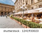 Summer Street Cafe On Piazza...