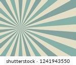 sunlight wide retro faded... | Shutterstock .eps vector #1241943550