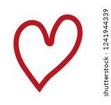 heart symbol  valentine day | Shutterstock .eps vector #1241944339