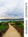 istanbul sunset and beautiful... | Shutterstock . vector #1241946673