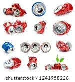 crumpled aluminum can   Shutterstock . vector #1241958226