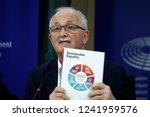 brussels  belgium. 27th nov.... | Shutterstock . vector #1241959576