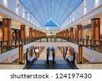Interior Of Modern Shopping...