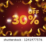 banner 30 off with share... | Shutterstock .eps vector #1241977576