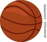 basketball   Shutterstock . vector #124199596