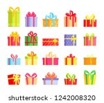 vector illustration set of... | Shutterstock .eps vector #1242008320
