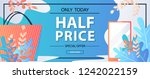 half price only today shop now. ...