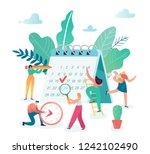 business planning  timetable ...   Shutterstock .eps vector #1242102490