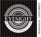 eyesight silver badge | Shutterstock .eps vector #1242148813