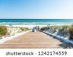 seaside  usa   april 25  2018 ... | Shutterstock . vector #1242174559