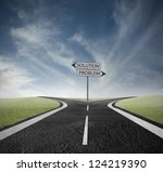 concept of choose the correct... | Shutterstock . vector #124219390