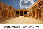 Karnak Temple Complex In Luxor...