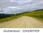 steese highway  fairbanks 83... | Shutterstock . vector #1242307429