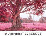 Fantastic Swing On Tree  Pink...