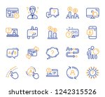 ux line icons. set of ab...