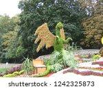 dragon flower of flowers in a... | Shutterstock . vector #1242325873