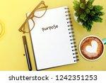 business concept. top view... | Shutterstock . vector #1242351253