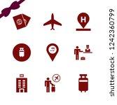 tourist icon. tourist vector... | Shutterstock .eps vector #1242360799