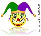 court jester smile character | Shutterstock . vector #124236430