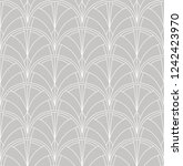 seamless art deco pattern.... | Shutterstock .eps vector #1242423970