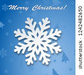 illustration christmas... | Shutterstock . vector #1242482650