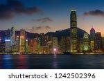 hong kong   november 6  2018 ... | Shutterstock . vector #1242502396
