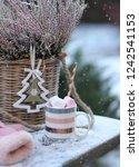 Mug With Sweets And A Basket...