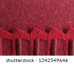 close up of felt   wool fabric... | Shutterstock . vector #1242549646