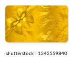 gift card  gift card discount   ... | Shutterstock .eps vector #1242559840