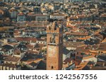 old medieval roman city from... | Shutterstock . vector #1242567556