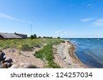 Beach on the Baltic Summer Sea - stock photo