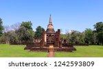 si satchanalai historical park. ... | Shutterstock . vector #1242593809