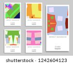 card or invitation. vector... | Shutterstock .eps vector #1242604123