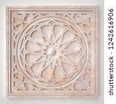 3d rendering beautiful marble... | Shutterstock . vector #1242616906