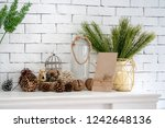 Home Decoration Brown And Whit...