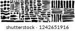 brush stroke vector...   Shutterstock .eps vector #1242651916