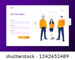 website of join our team modern ...
