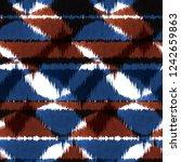 geometric abstract pattern... | Shutterstock . vector #1242659863