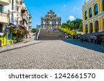 china  macau   september 6 2018 ... | Shutterstock . vector #1242661570