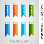 web banner tag to use for...   Shutterstock .eps vector #124266190