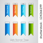 web banner tag to use for...   Shutterstock . vector #124266199