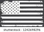 united states flag background... | Shutterstock .eps vector #1242698296