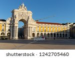 lisbon   portugal   november 06 ... | Shutterstock . vector #1242705460