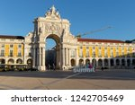 lisbon   portugal   november 06 ... | Shutterstock . vector #1242705469