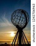 landscape view in nordkapp...   Shutterstock . vector #1242706963