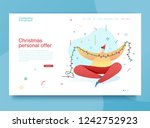 design happy new year... | Shutterstock .eps vector #1242752923