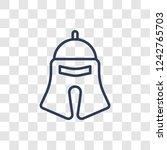 roman or greek helmet icon....   Shutterstock .eps vector #1242765703