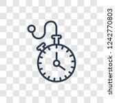 pocket watch icon. trendy...   Shutterstock .eps vector #1242770803